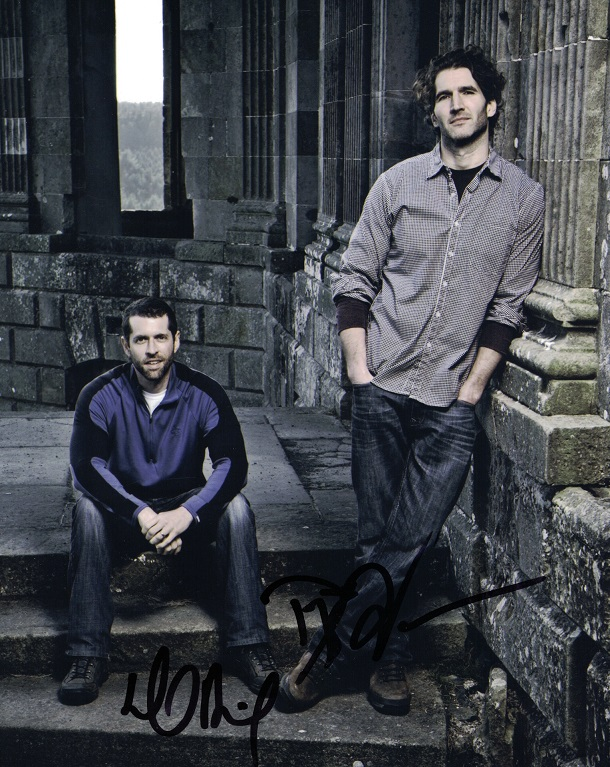 Game of Thrones creators David Benioff & DB Weiss